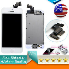 For iPhone 5 LCD Display Digitizer Touch Screen Assembly Replace Button &Camera%