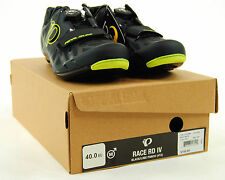 Pearl Izumi Race Road IV Boa Cycling Shoes, Black/Lime Punch, Size 40 / 7