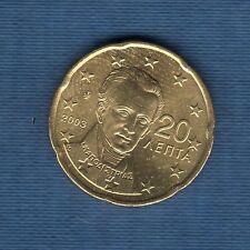 Gréce - 2003 -  20 centimes d'euro - Pièce neuve de rouleau -