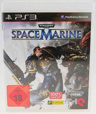 Warhammer 40.000: Space Marine | Sony Playstation 3 PS3 komplett in OVP sehr gut