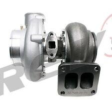 NEW REV9 TX-66-62 TURBO CHARGER .70AR T4 DIVIDED FLANGE 3 INCH V-BAND 300-600HP+