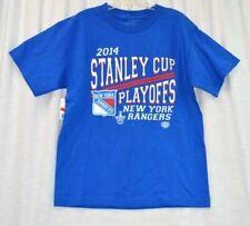 Next Level Apparel New York Rangers Short Sleeve Shirt Size XL Used