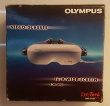 OLYMPUS FMD-250 W # VIDEO GLASSES # PORTABLE TV # OVP # BOXED