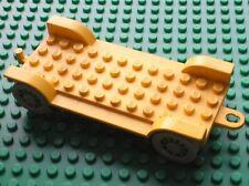 LEGO Fabuland blue Car Chassis 14 x 6 Old ref x612 Set 137 344 134 347 3635...