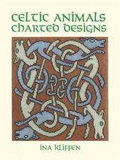Celtic Animals Charted Designs Dover Embroidery Needlepoint ExLibrary
