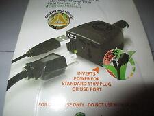 Power Invertor for Car Cigarette Lighter 150 Watt 110 volt AC, USB