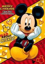 Disney Coloring Book - Mad About Mickey -