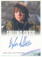 """DYLAN AUTHORS """"JIMMY BOLAND AUTOGRAPH CARD"""" FALLING SKIES SEASON 1"""
