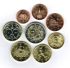 Italy 2010 - Set of 8 Euro Coins (UNC)