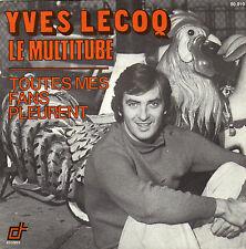 YVES LECOQ LE MULTITUBE FRENCH 45 SINGLE