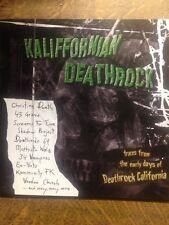 KALIFFORNIAN DEATHROCK.EARLY DEATHROCK.STROBELIGHT RECORDS.RARE C.D.U.S IMPORT