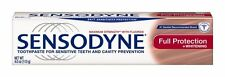 Sensodyne Toothpaste for Sensitive Teeth and Cavity Prevention Full Protection