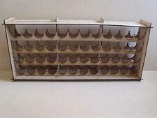 Paint Stand 48 bottle rack storage warpaint /   Vallejo warhammer 40k / wargames