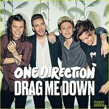 ONE DIRECTION - DRAG ME DOWN  CD SINGLE NEU