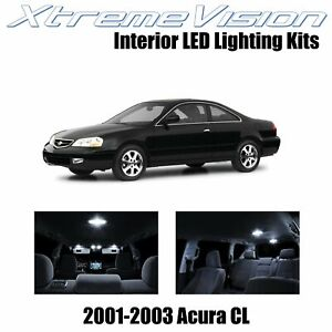 XtremeVision Interior LED Kit for Acura CL 2001-2003 (6 Pieces) Pure White