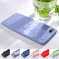 Case For Huawei Honor Play 9 10 Lite 20 Pro Liquid Soft Silicone TPU Back Cover