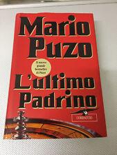 LIBRO L'ULTIMO PADRINO MARIO PUZO CORBACCIO 1996 COME NUOVO