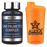 Scitec Nutrition Saw Palmetto Complex 60 Kaps. Gesundheit der Prostata + Shaker