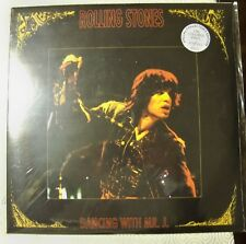 """ROLLING STONES """"DANCING WITH MR J """" DOUBLE COLOURED LP LIVE WEMBLEY LONDON 1973"""