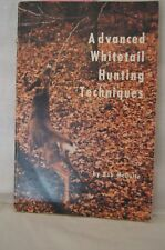Advanced Whitetaial Hunting Techniques, Bob McGuire PB1983, SIGNED, #18021