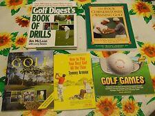 5 UNREAD GOLF GAMES DIGEST'S BOOK OF DRILLS Four Cornerstones of Winning ARMOUR