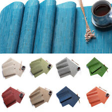 Placemat Table Runner Tablecloth Table Decoration Heat Insulation Tableware Mats