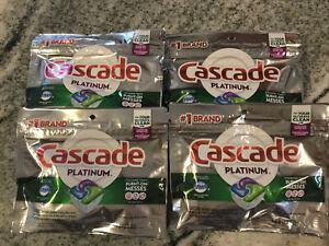 cascade platinum dishwasher pods 16 Count. 4 Packs