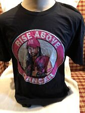RARE WWE WWF Romain Reigns Rise Above Cancer Awareness Never Give Up T Shirt XXL