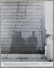 Vintage 11x14 Photograph Shadow Burnt Into Wall After Nagasaki Nuclear Bomb 1945