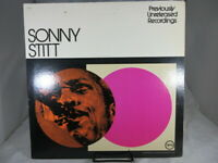 Sonny Stitt lp previously unreleased record V6-8837   VG+ cover VG+