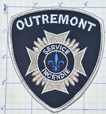 CANADA, OUTREMONT FIRE SERVICE INCENDIE MONTREAL QUEBEC PATCH