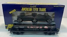 American Flyer 6-48418 S Scale Protex 3-Dome Tank Car LN/Box