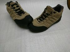 Men's LANDS END LACE UP BEIGE SUEDE BOOTS UK 11