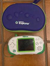 LeapFrog Green/White Leapster Explorer Game System with Case