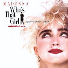 MADONNA LP Who's That Girl 2018 140 Gram Vinyl + STICKER 'Classic 80's Soundtrk'