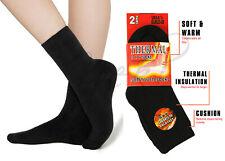 Kids Children Boys Girls Soft Thick Thermal Heat Warm Winter Socks 2-4-6 Pack