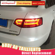 For Audi A6 LED Taillights Assembly Red LED Rear Lamps 2009-2011