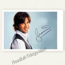 Shahid Kapoor - Autogrammfotokarte laminiert   Bollywood Star 