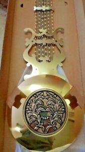 Hermle Grandfather clock Lyre pendulum 114 cm length 275 mm bob