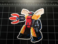 Transformers G1 Omega Supreme box art vinyl decal sticker Autobot toy 1980's 80s