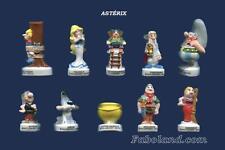 Feves  ASTÉRIX 2009   10 sujets porcelaine AR  BD758