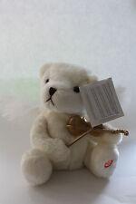 Noël en mouvement musical blanc ANGE VIOLON Jouer Souple ours peluche