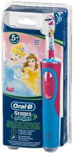 BRAUN Oral B Stages Power elektrische Zahnbürste für Kinder mit Prinzessin Motiv