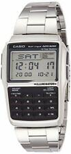 CASIO watch data bank DBC32D-1A silver [reverse import product]