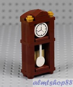 LEGO - Grandfather Pendulum Clock - Furniture Standing Haunted House Minifigure