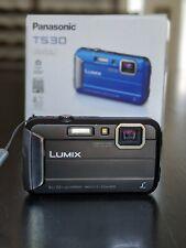 Panasonic Lumix DMC-TS30 Digital Camera 16.1MP 720p HD Video Waterproof Durable