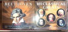 Beethoven 5 CD Set The Nine Symphonies PLUS 101 Classical Greats 5 CD Set
