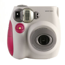 Pink & White FujiFilm Fuji Instax Mini 7S Instant Photos Films Polaroid Camera