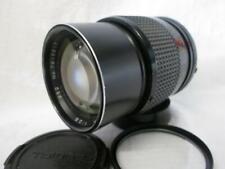 TOKINA RMC 135mm 1:2.8 NIKON F Mount N/Ai PRIME LENS, Both Caps & Filter