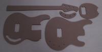 Stingray 4 Saiter Bass Schablone templates Gitarrenbau